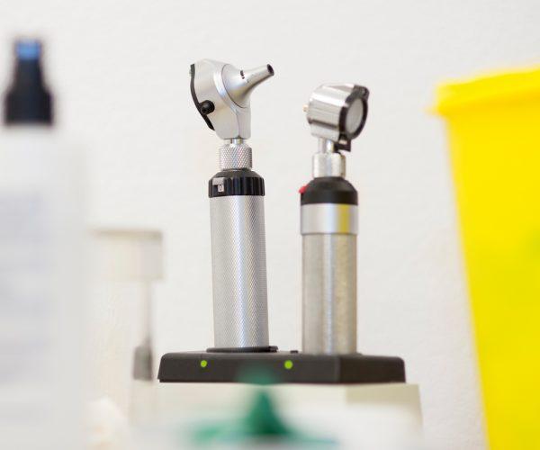 Otoskope im Gesundheitsamt Rotenburg