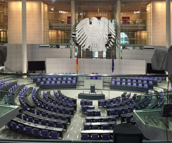 Plenarsaal Bundestag - Foto: A. Kaunzner