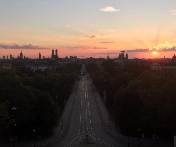 München - Blick vom Maximilianeum (Foro: A. Kaunzner.
