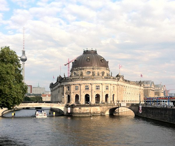 Museumsinsel Berlin, Bode-Bau, Foto: A. Kaunzner