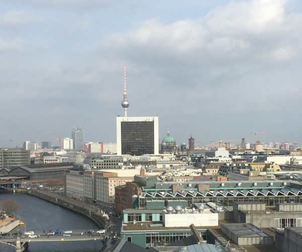 Berlin - Blick vom Reichstag (Bild: A. Kaunzner)