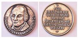 Johann-Peter-Frank Medaille